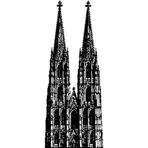 The Cologne Cathedral (Germany)